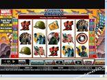 rahapeliautomaatit Captain America CryptoLogic